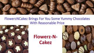 FlowerzNCakez Brings For You Some Yummy Chocolates With Reasonable Price