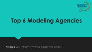 Top Modelling Agencies in Mumbai