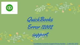 QuickBooks payroll error 12002