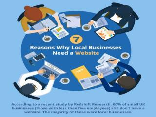 7 Reasons why Local Business Need a Website