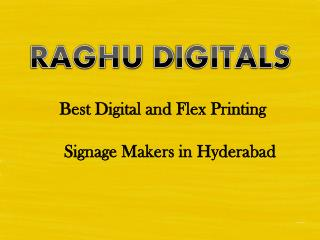 Signboard Manufacturers, Dealers in Hyderabad