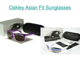 Oakley Asian Fit Sunglasses