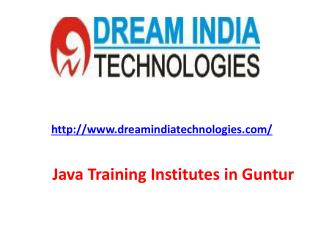Java Training Institutes in Guntur|Java Course Training in Guntur