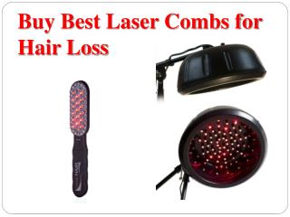 Buy Best Laser Combs for Hair Loss