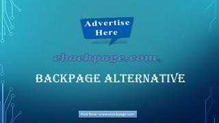 Backpage Alternative