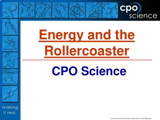 Energy and the Rollercoaster
