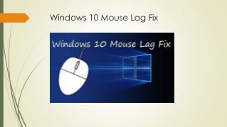 3 Solutions: Windows 10 Mouse Lag Fix