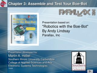 Chapter 3: Assemble and Test Your Boe-Bot