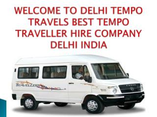 12 Seater Tempo Traveller On Rent Delhi