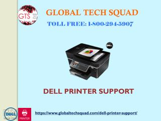 Dell Printer Technical Support I USA: 1-800-294-5907