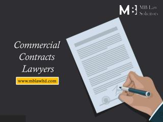 Contract Law Solicitors | MB Law Ltd Solicitors | Twickenham, London