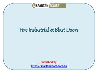 High Quality Industrial Doors