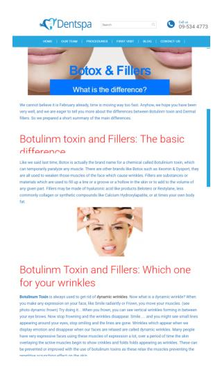 What Is The Difference Between Botox and Fillers? Know From Dentist Botany
