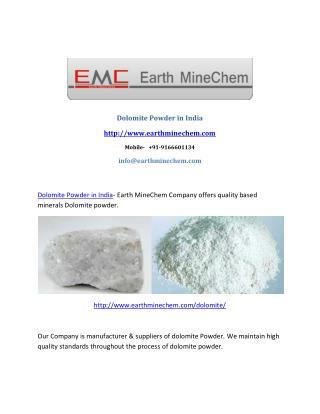 Dolomite Powderr in India