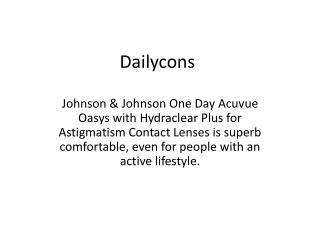 Dailycons UK