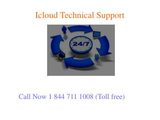 Icloud Tech Support 1 844 711 1008 Phone Number