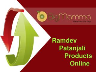 Online Patanjali Products Store