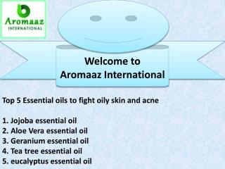 Top 5 essential oils for acne treatment