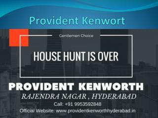 Luxury Apartments Provident Kenworth Rajendra Nagar