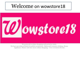 Online Shopping on wowstore18