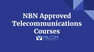 NBN Approved Telecommunications Courses in Australia