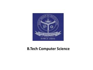 Best Computer Science & Engineering Colleges in Greater Noida –GNIOT