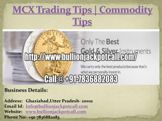 MCX Trading Tips | Commodity Tips