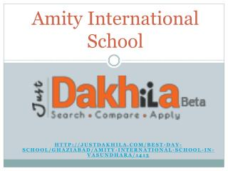 Amity International School Vasundhara
