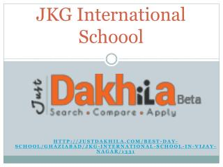 JKG International School Vijay Nagar
