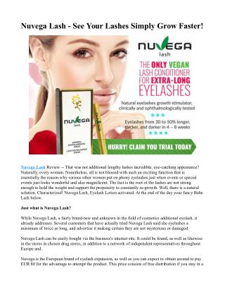 Exactly where To purchase Nuvega Lash?