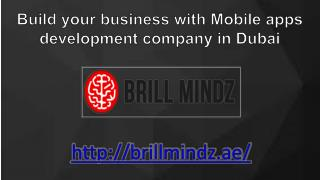 Mobile apps development companies in Dubai