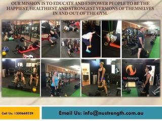 Personal Training Brisbane - Fitness Experts - Nustrength.Com.Au