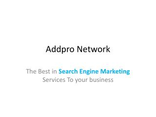 Search Engine Marketing Bangalore