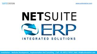 NetSuite Solutions In USA