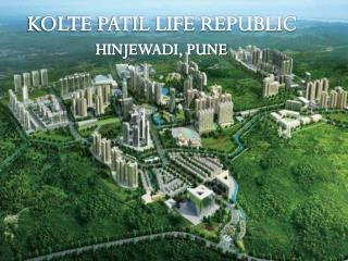 Kolte Patil Life Republic| Call: 91 9953592848