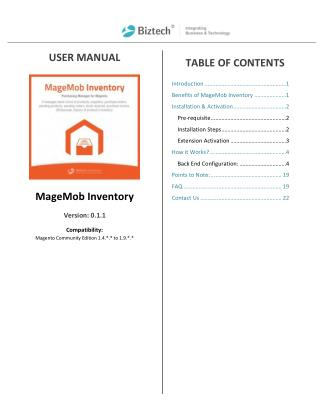 Complete Inventory Management Solution for Magento
