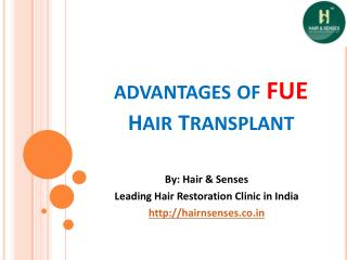 Advantages of FUE Hair Transplant