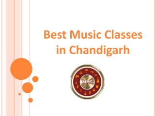 Best Music Classes in Chandigarh