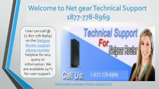 USA {{1877 778 8969}} Netgear Router Technical Support Phone Number