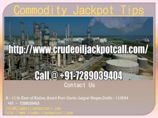 Commodity Jackpot Tips