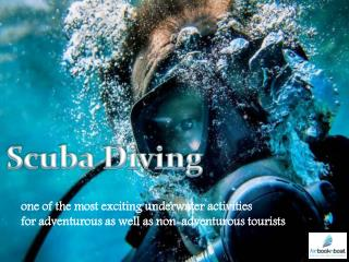 Adventurous Scuba Diving in Spain