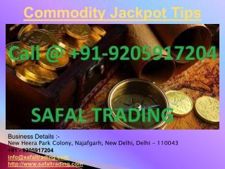 Commodity Jackpot Tips