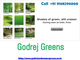 Godrej Greens Godrej New Project Undri Pune