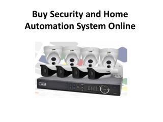 Buy Security Home Automation System Online