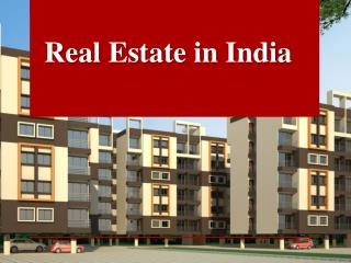 realestate in India