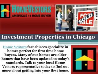 Investment Properties in Chicago