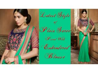 Latest BollyWood Sarees Online | Designer Saree Blouse Designs & New Party Wear Sarees Designs Collection
