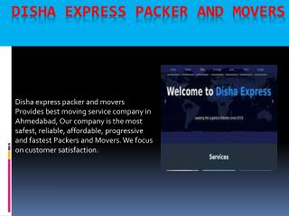 Household Moving Companies in Ahmedabad