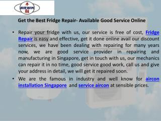 Available Good Service Online