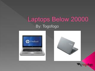 Laptops Below 20000